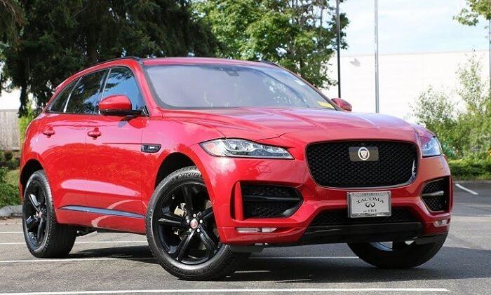 2018 Jaguar F-Pace car