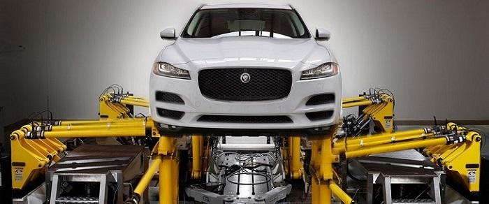 2018 Jaguar F-Pace safety