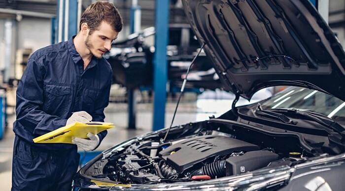 Auto-car-inspection center