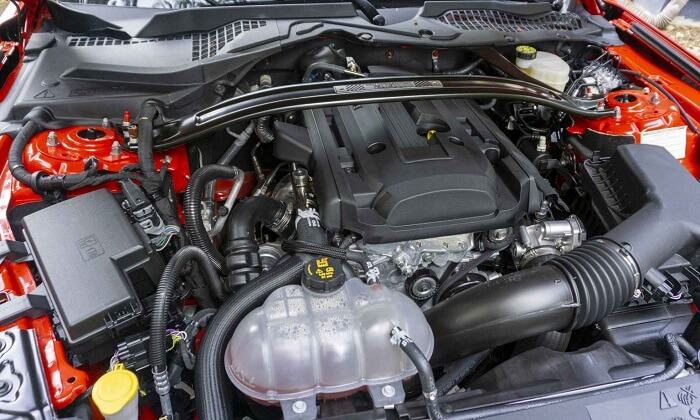 Ecoboost Mustang of 2020 engine