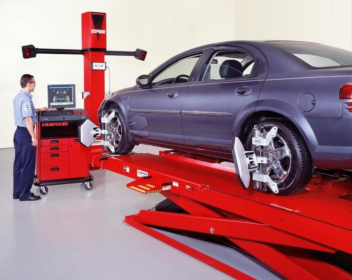 What does it mean by aligning car wheels