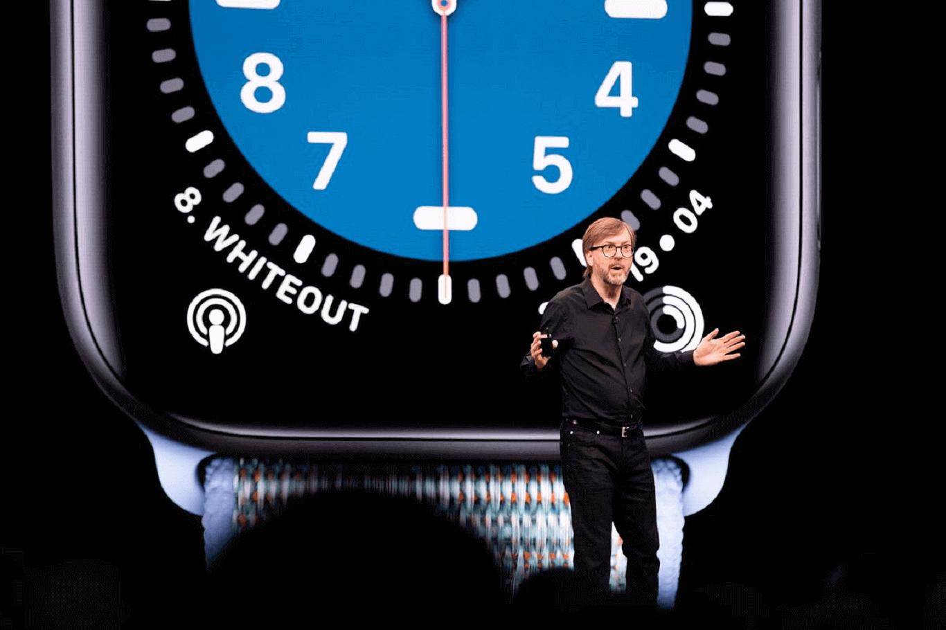 Apple Watch executive