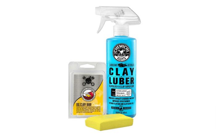 Chemical Guys Medium Clay Bar and Luber Kit