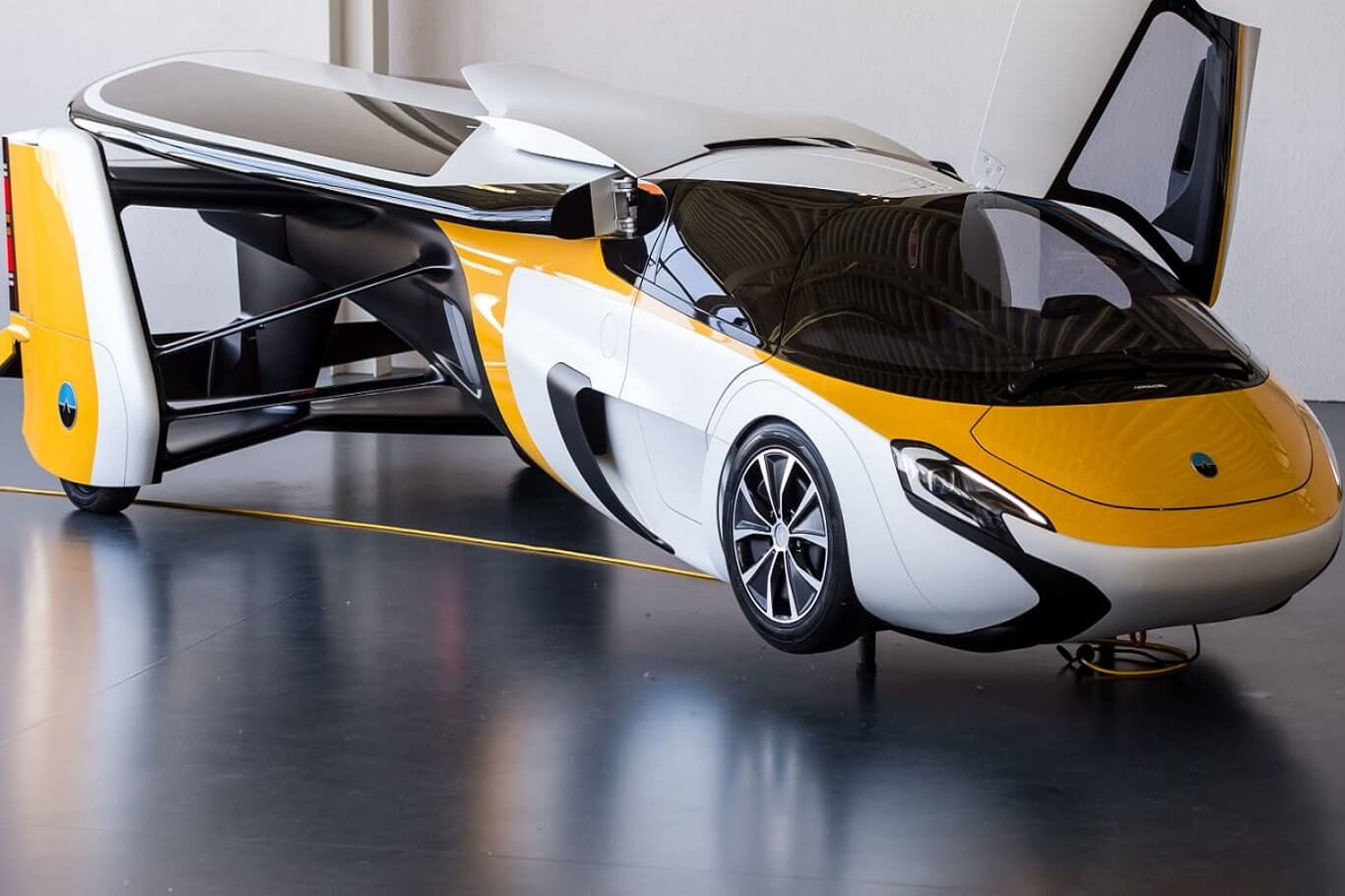 Flying cars arriving in 2024