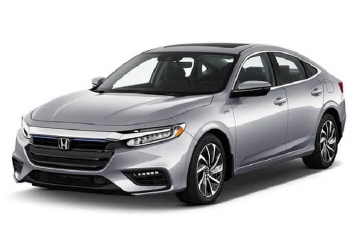 Honda Insight hybrid car (2020)