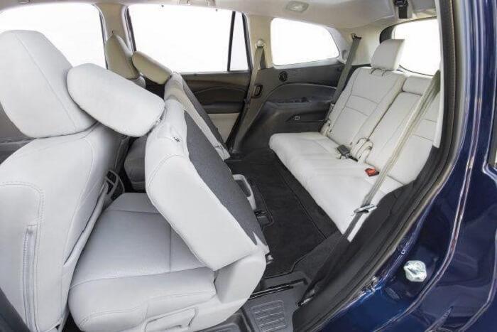 Honda pilot Cabin Space
