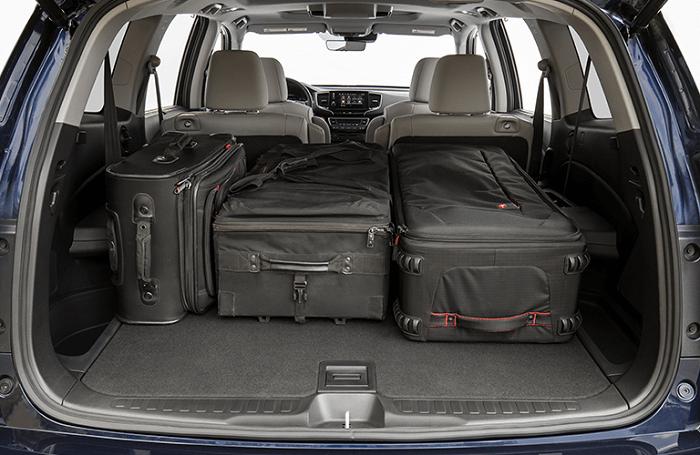 Honda pilot Cargo Capacity