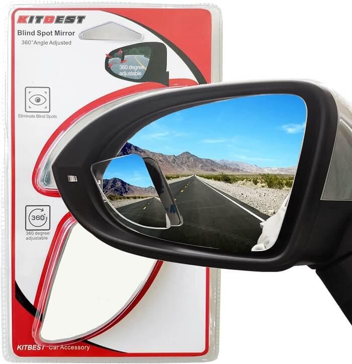 Kitbest Frameless Blind spot mirrors