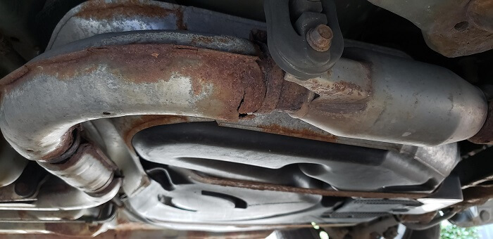 Mufflers can fail in many ways