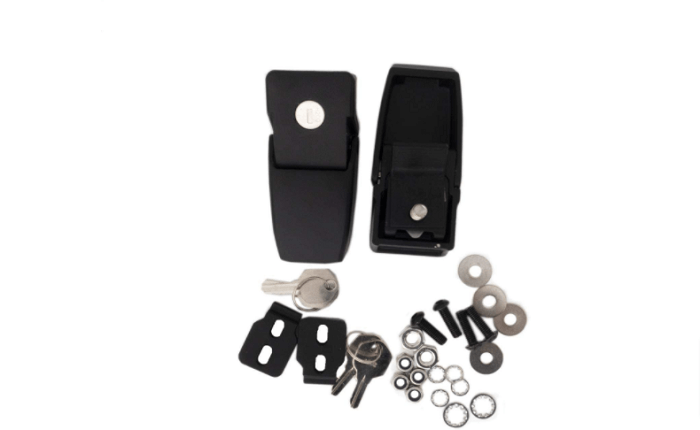 Rampage Product 76337 Black Hood Catch Kit