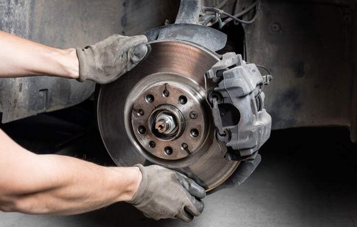The brake system problems
