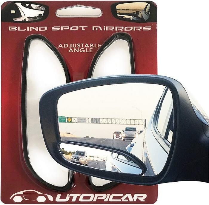 Utopicar Long Design Blind spot mirrors