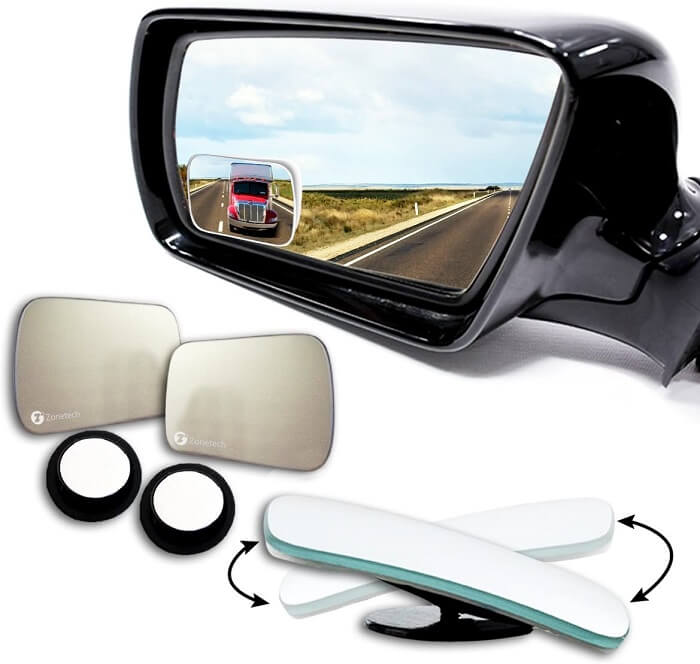 Zone Tech Square Blind spot mirrors