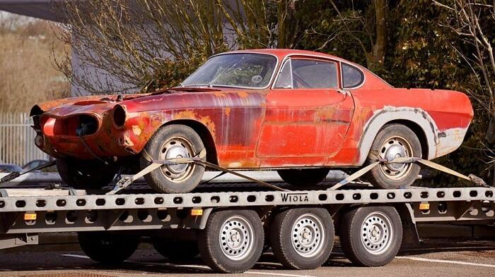 process of selling broken cars