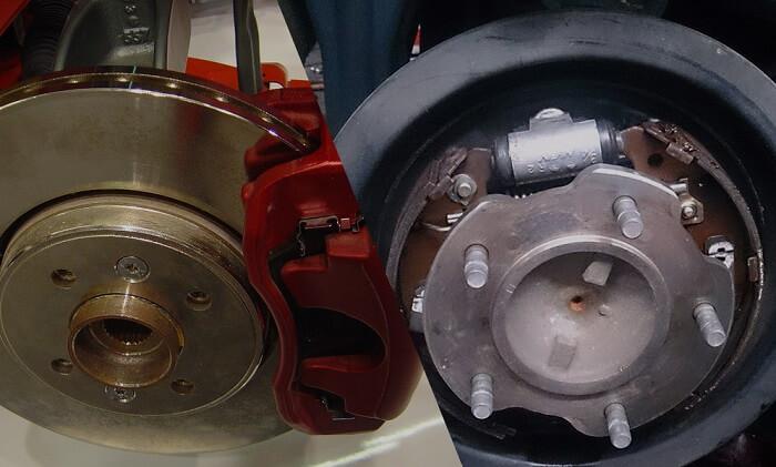 Disc vs. Drum brakes