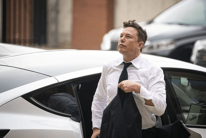 Elon Musk, the CEO of the automaker