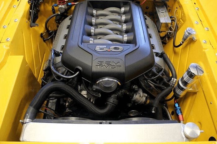 Ford Mustang Coyote V-8 will lose 10 HP in 2022