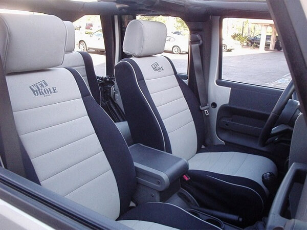 Iggee 1997 – 2002 Custom Fit Seat Cover for Jeep Wrangler