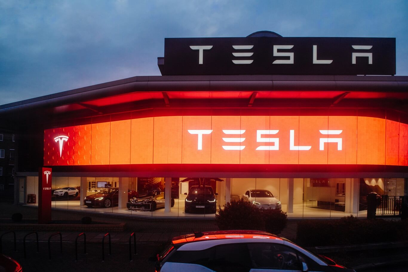 Tesla relocated from California to Austin, Texas